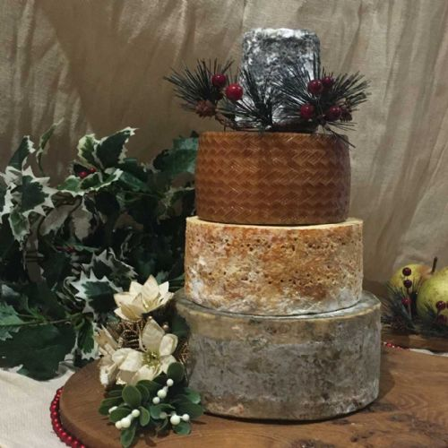Christmas cheese cake, 4.5kg cheese tower.
